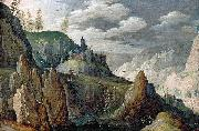 Tobias Verhaecht Mountainous Landscape oil painting