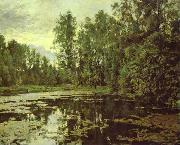 the Overgrown Pond. Domotcanovo, Valentin Serov