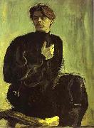 Portrait of the Writer Maxim Gorky, Valentin Serov