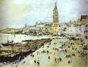 Seaside in Venice. Study, Valentin Serov
