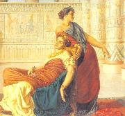 Valentine Cameron Prinsep Prints The Death of Cleopatra oil painting reproduction