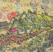 Farmhouses, Vincent Van Gogh