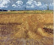 Wheat Field, Vincent Van Gogh