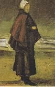 Fisherman's wife on the beach, Vincent Van Gogh
