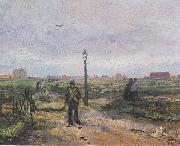 On the outskirts of Paris, Vincent Van Gogh