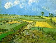 Wheat Fields at Auvers Under Clouded Sky, Vincent Van Gogh
