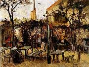 Terrace of a Cafe on Montmartre, Vincent Van Gogh