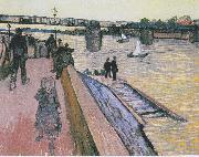 The Bridge of Triquetaille, Vincent Van Gogh