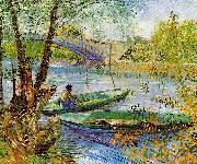 Fishing in the Spring, Vincent Van Gogh