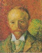 Portrait of the Art-trader Alexander Reid, Vincent Van Gogh