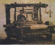 Weaver at the loom, Vincent Van Gogh