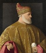 Portrait of the Doge, Andrea Gritti, Vincenzo Catena