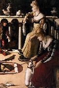 Vittore Carpaccio Two Venetian Ladies oil painting reproduction