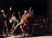 Willem Cornelisz. Duyster Carnival Clowns oil painting