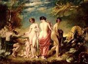 William Etty The judement of Paris oil painting reproduction