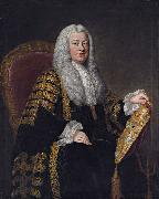 William Hoare Philip Yorke, 1st Earl of Hardwicke oil painting