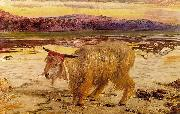 William Holman Hunt The Scapegoat oil painting reproduction
