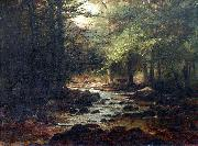 William Samuel Horton Landscape with Stream oil painting