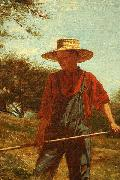 Winslow Homer Haymaking oil painting reproduction