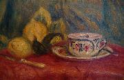 Lemons and Teacup, Pierre Auguste Renoir