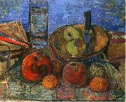 Zygmunt Waliszewski Still life with apples. oil painting