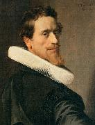 nicolaes eliasz pickenoy Self portrait at the Age of Thirty Six oil painting