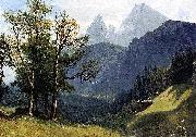 Albert Bierstadt Tyrolean Landscape oil painting reproduction