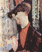 Portrait of Frank Burty Haviland, Amedeo Modigliani