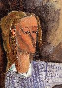 Portrait of Beatrice Hastings, Amedeo Modigliani