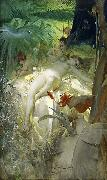 The Love Nymph, Anders Zorn