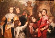 A Family Group, Anthony Van Dyck