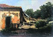 Antonio Parreiras My first oil study oil painting reproduction