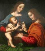 BASAITI, Marco Mystical Marriage of Saint Catherine oil painting reproduction