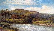 Benjamin Williams Leader The Conway Near Bettws y Coed oil painting artist