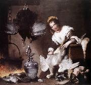 Bernardo Strozzi The Cook oil painting reproduction