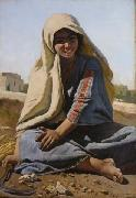 Charles Verlat The Girl from Bethlehem oil painting artist