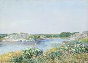 The Little Pond Appledore, Childe Hassam