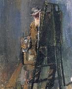 Selfportrait of Christian Krohg, Christian Krohg