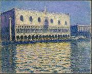 The Doge's Palace (Le Palais ducal), Claude Monet