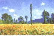Champ de coquelicots a Giverny, Claude Monet