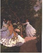 Women in the Garden, Claude Monet
