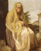 The old Italian woman, Edgar Degas