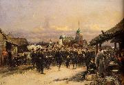 Chorus Of The Fourth Infantry Battalion At Tsarskoe Selo, Edouard Detaille
