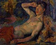 Eduard Magnus Awakening Faun oil painting reproduction