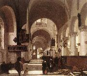 Interior of a Protestant Gothic Church