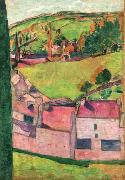 Emile Bernard Vue de Pont Aven oil painting reproduction