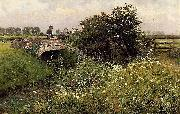 A Meeting on the Bridge, Emile Claus