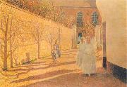 First Communion, Emile Claus