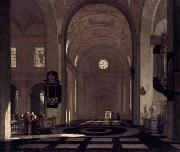 Emmanuel de Witte Interior of a Baroque Church oil painting on canvas