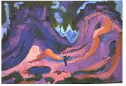 Ernst Ludwig Kirchner The Amselfluh oil painting reproduction